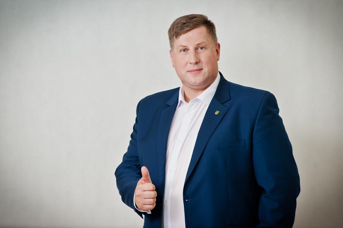 Jacek Orych Burmistrz Miasta Marki.