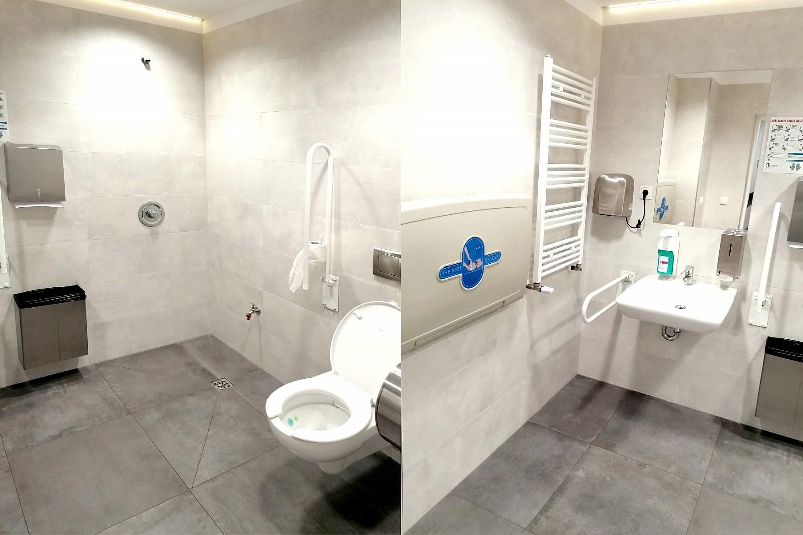 Łazienka dla OzN i dla rodziców